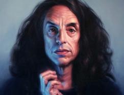 澳大利亚艺术家Michael Simms肖像画澳门金沙网址