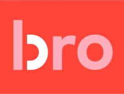 """斯堪的那维亚咨询公司""""Bro""""品牌形象设计"""