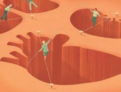 Stephan Schmitz蕴含寓意的插画作品欣赏
