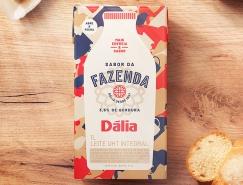 Fazenda牛奶包装设计