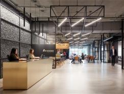 芝加哥Skender建筑公司办公室设计