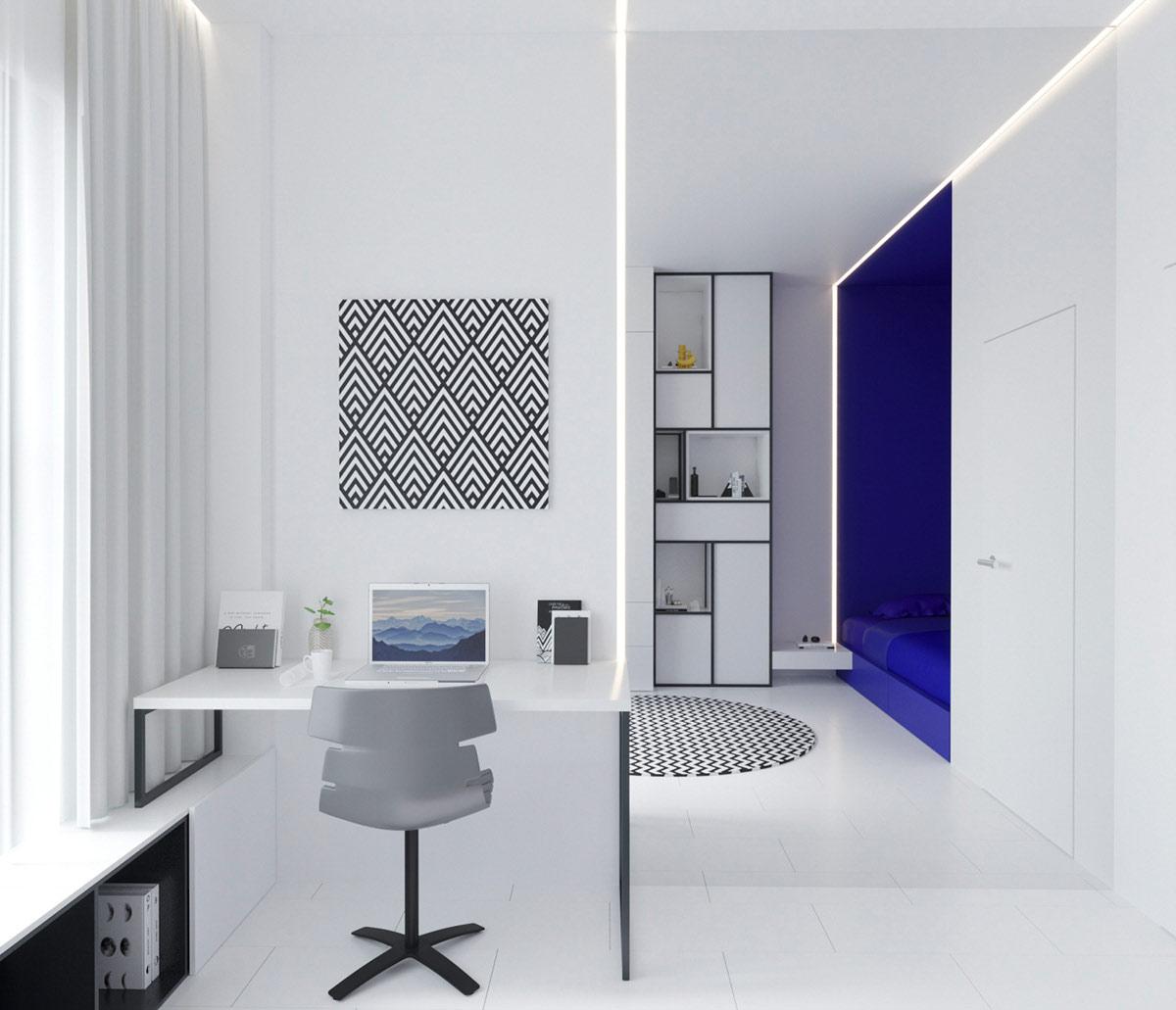 欧美风格_纯色和几何形状:荷兰风格派(De Stijl)家居装修艺术 - 设计之家