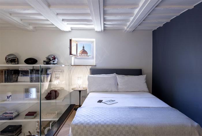舒适性和功能性兼具的50平米阁楼小公寓