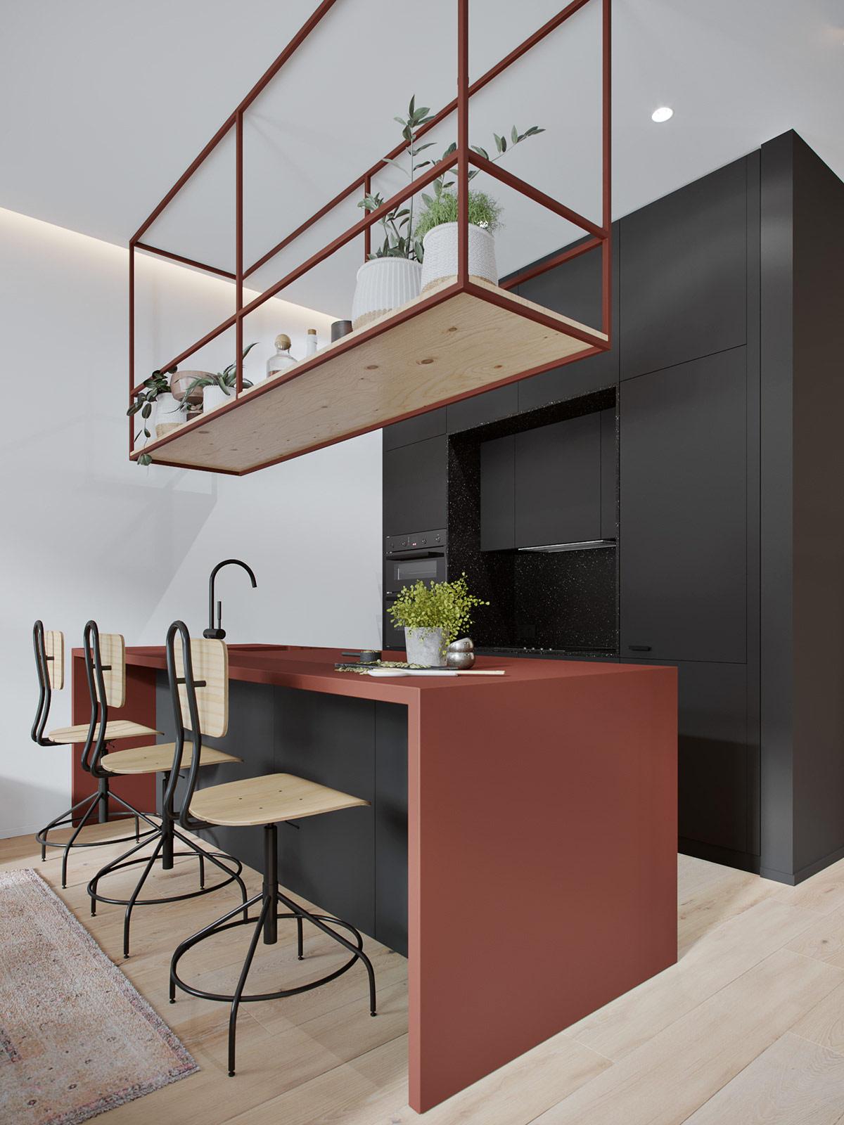 3个60平米紧凑小公寓装修设计