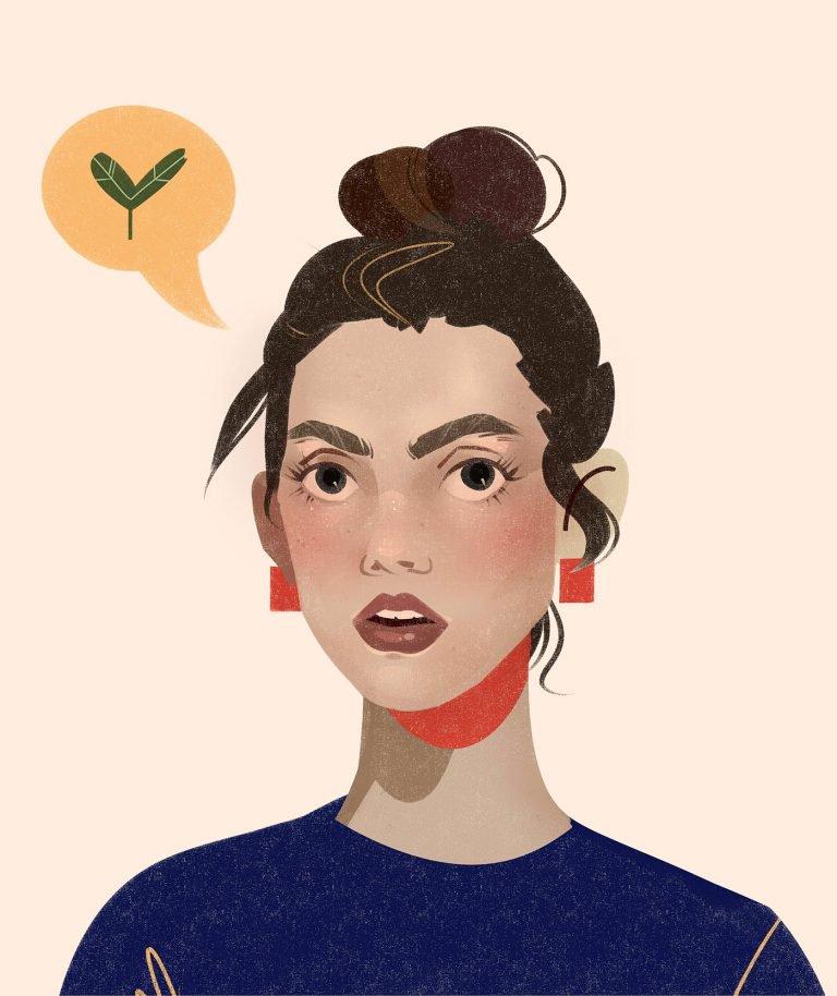 Maria Frenzy人物肖像插画作品