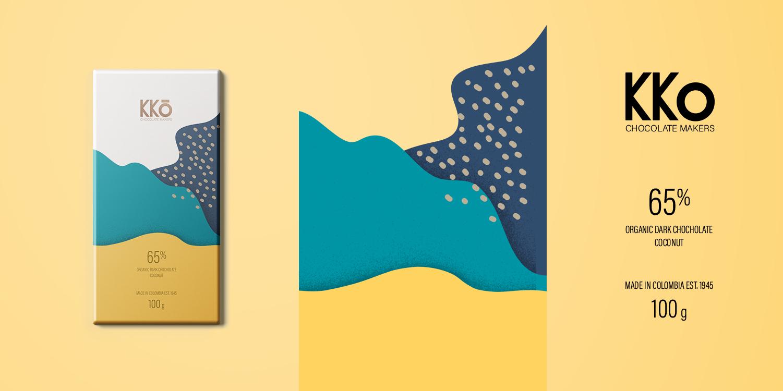 KKO巧克力包装设计