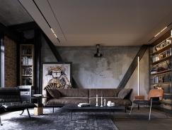 4个工业风格的公寓设计