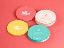 创意工作室Salt&Sugar品牌形象设计