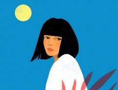 Suzanne Dias肖像插画澳门金沙网址