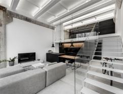工业极简主义风格的Loft住宅,体育投注