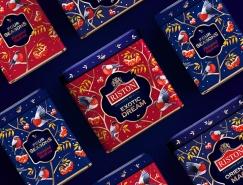Riston Tea茶冬季假日主题包装设计
