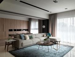享受陽光:台中時尚現代住宅設計