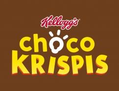 早餐麦片品牌Choco Krispis的新标识和包装