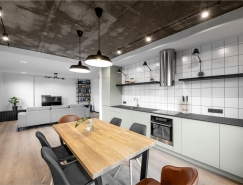 工业元素的开放式家居空间设计