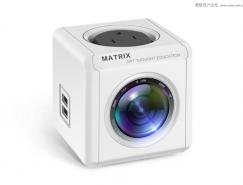 PS鼠绘立体多功能监控摄像头产品图片