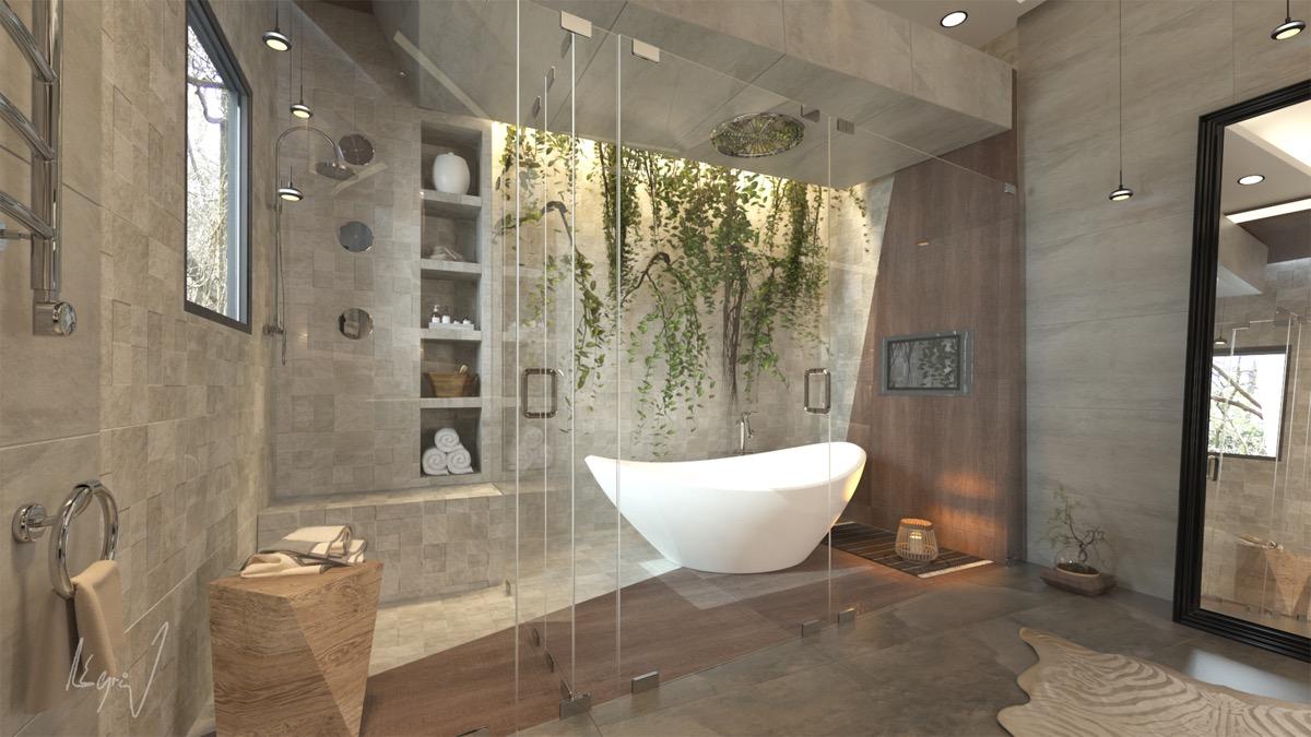 51个国外豪华浴室设计