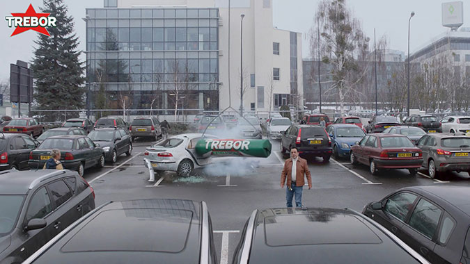 给我力量: 薄荷糖品牌Trebor创意广告