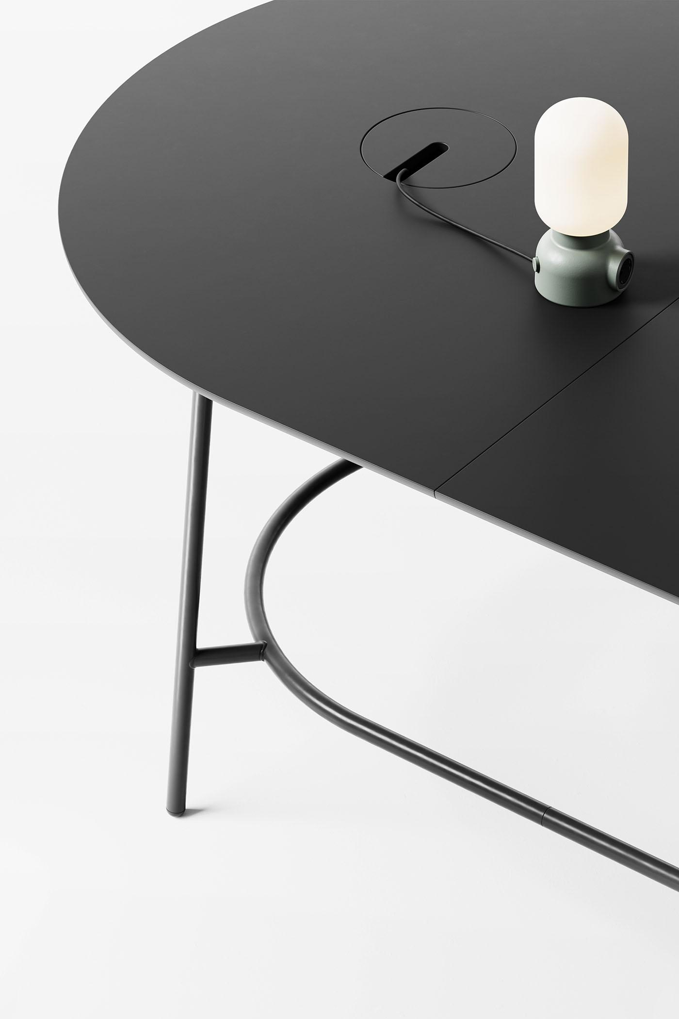 Nest极简主义的模块化桌子皇冠新2网