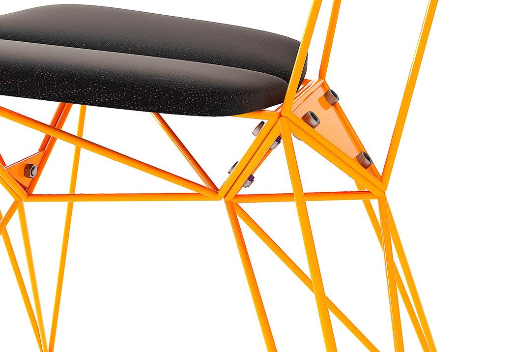 Fydor Lazariev设计的星型座椅