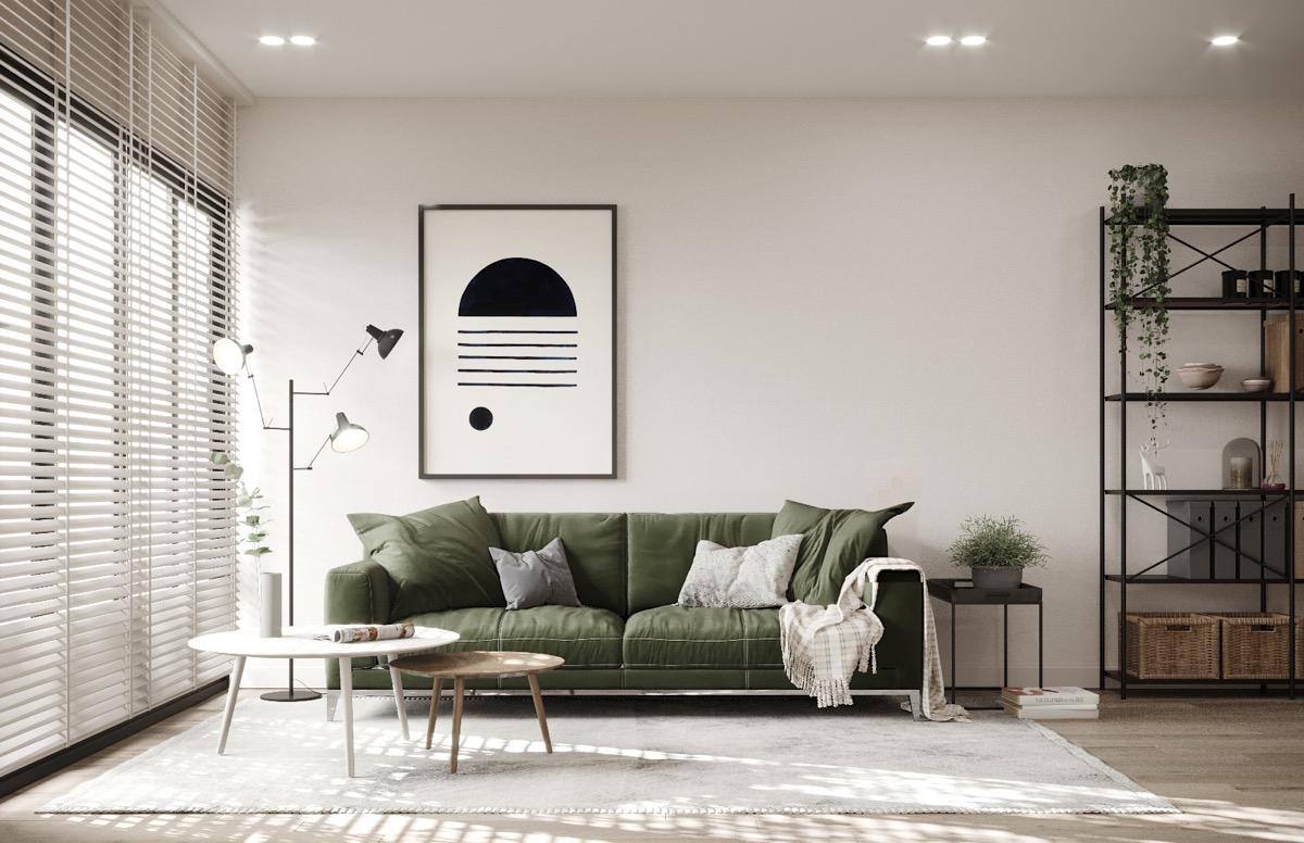 绿植点缀的北欧风格家居装饰设计 设计之家