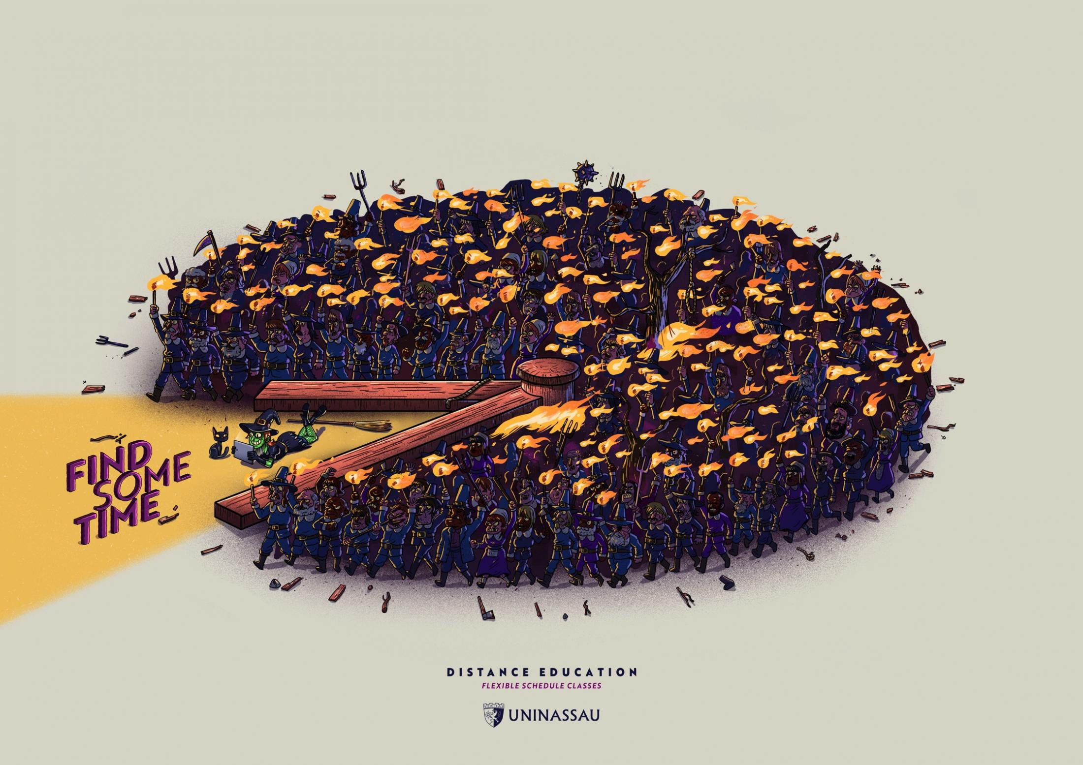 UNINASSAU远程教育广告