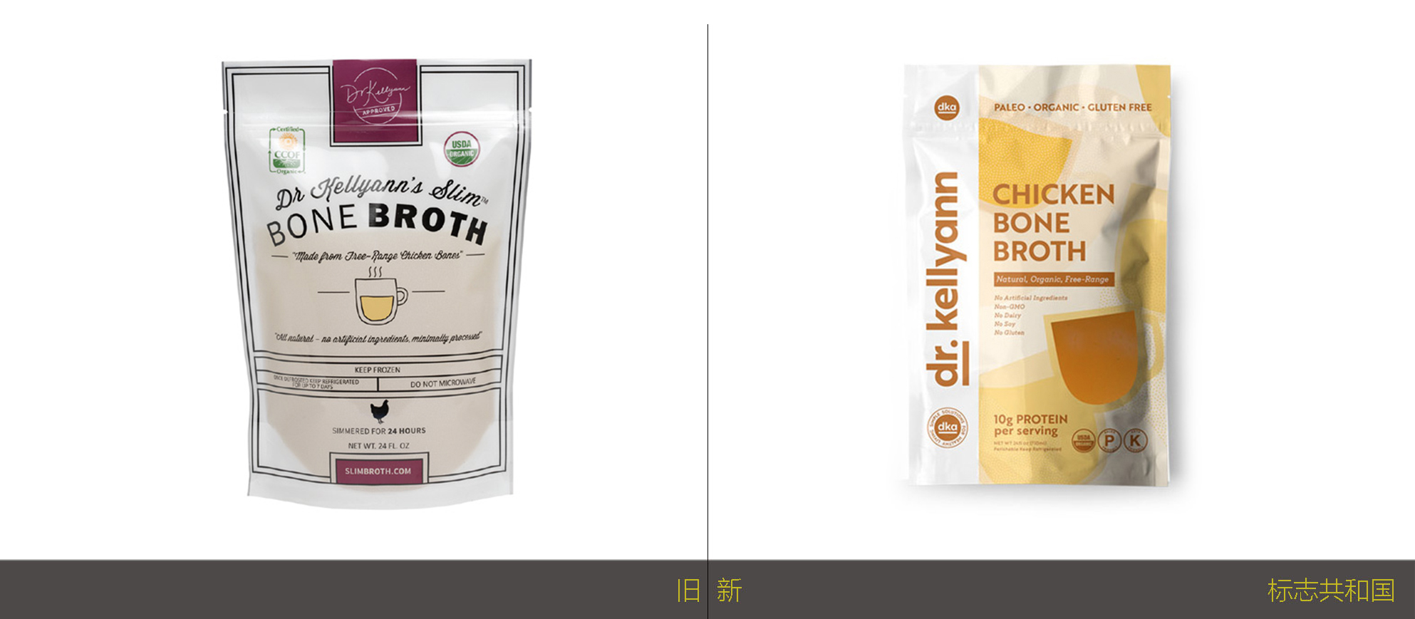 自然疗法营养师Kellyann博士的品牌标识和包装设计