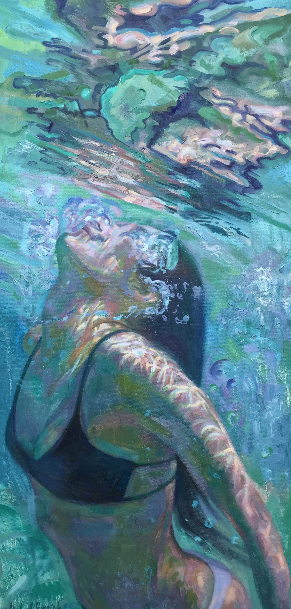 underwater painting easy - 700×1461