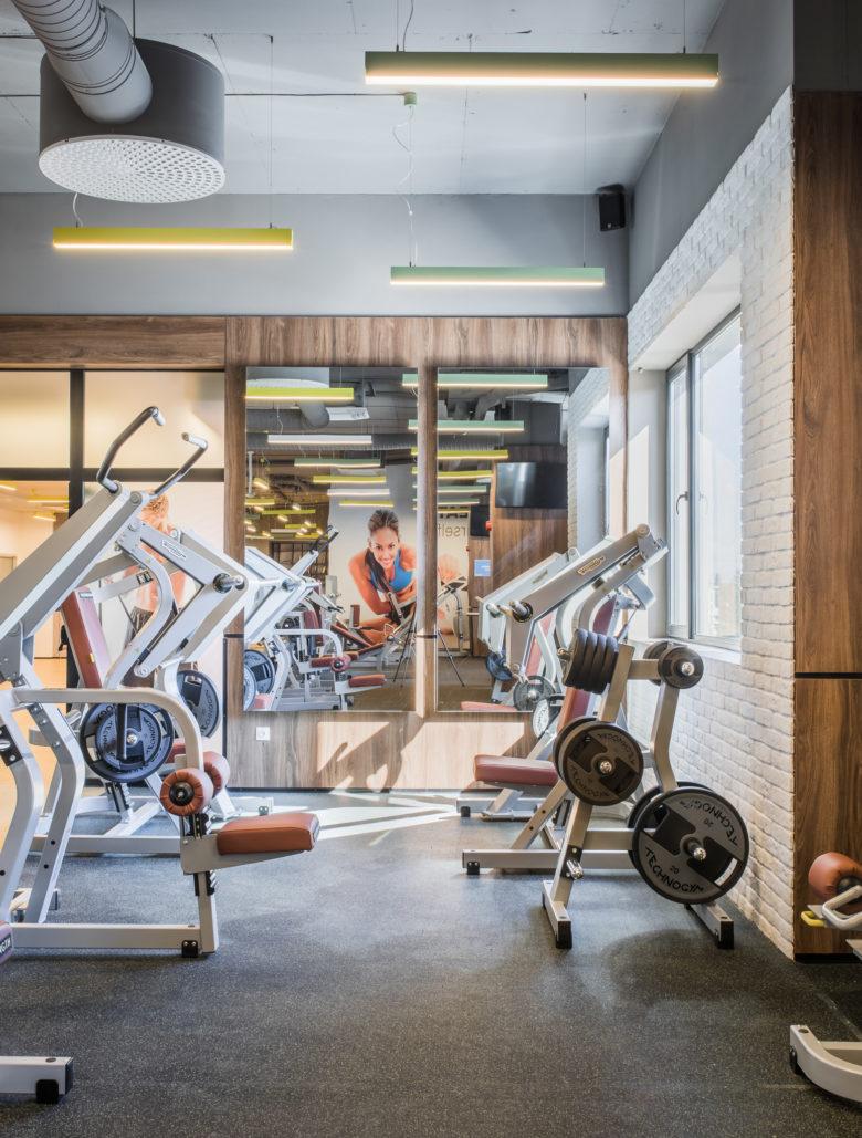Next Level健身房空间设计