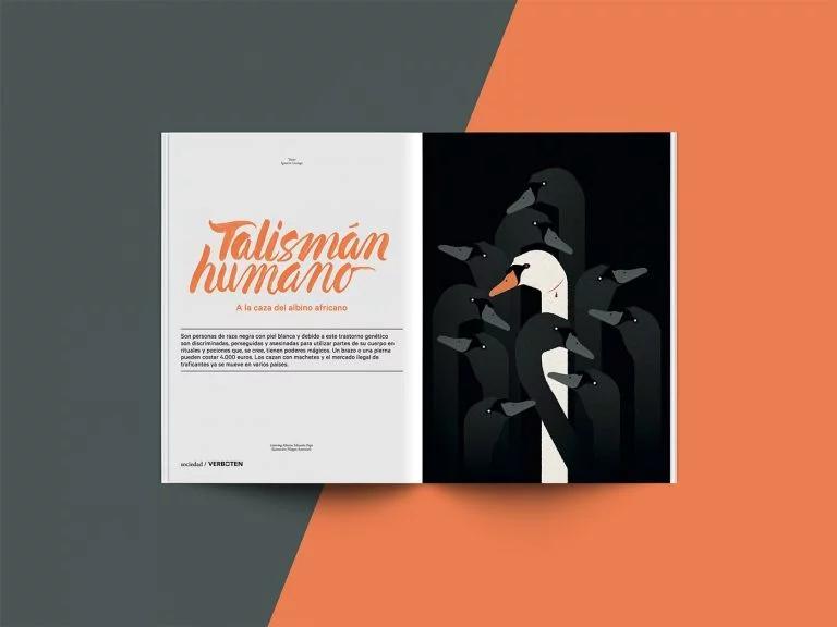 Verboten杂志版式设计