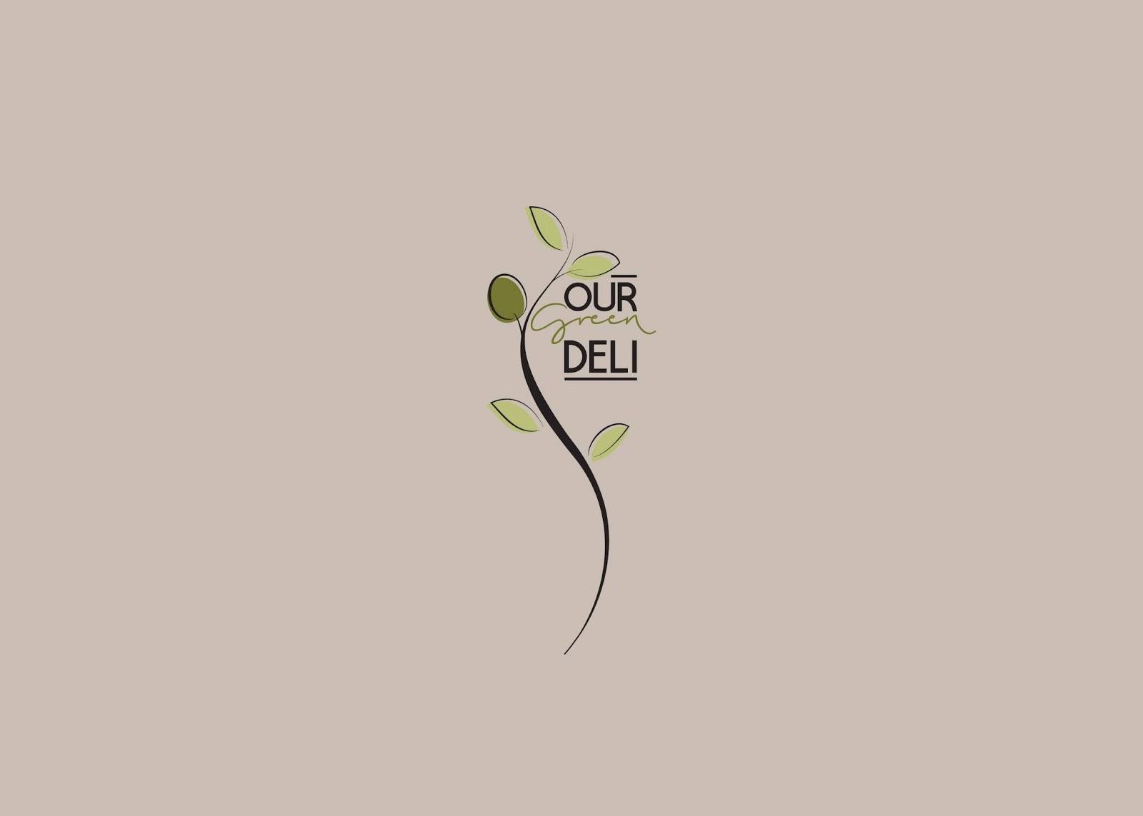 清新简约的Our Green Deli橄榄油包装