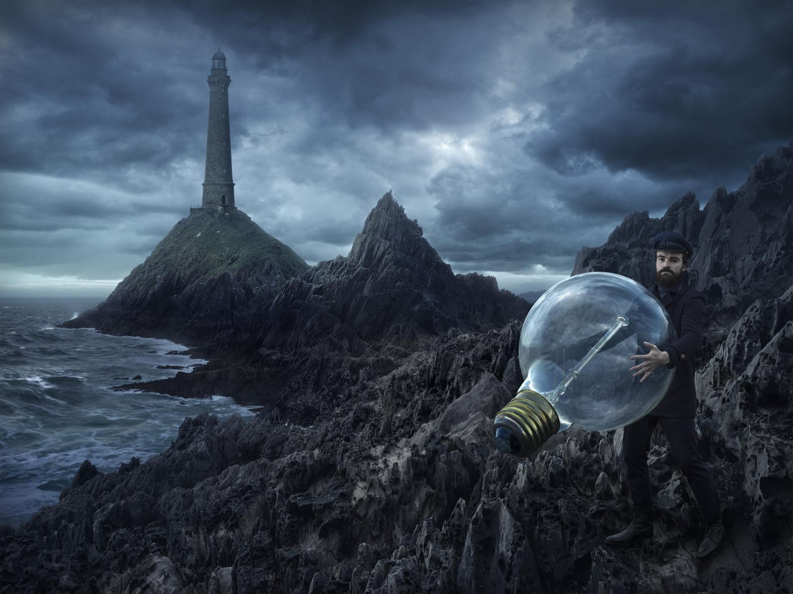 摄影师Erik Johansson的魔法世界