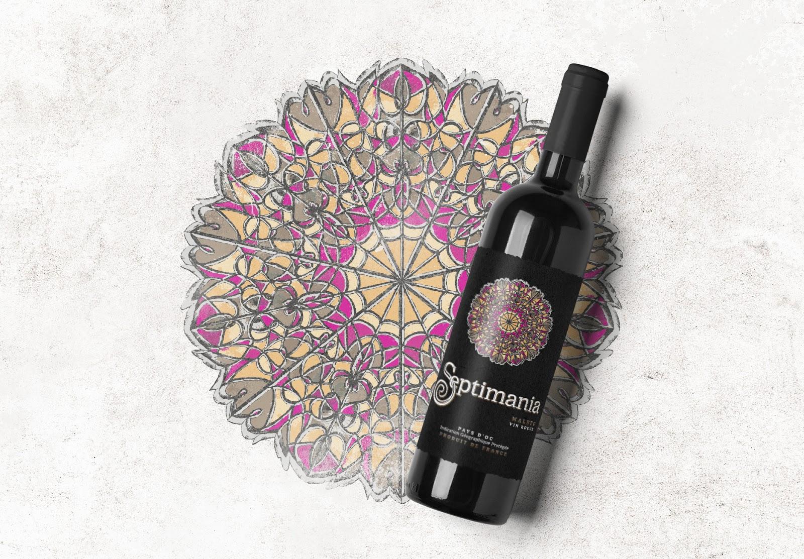 Septimania葡萄酒包装设计