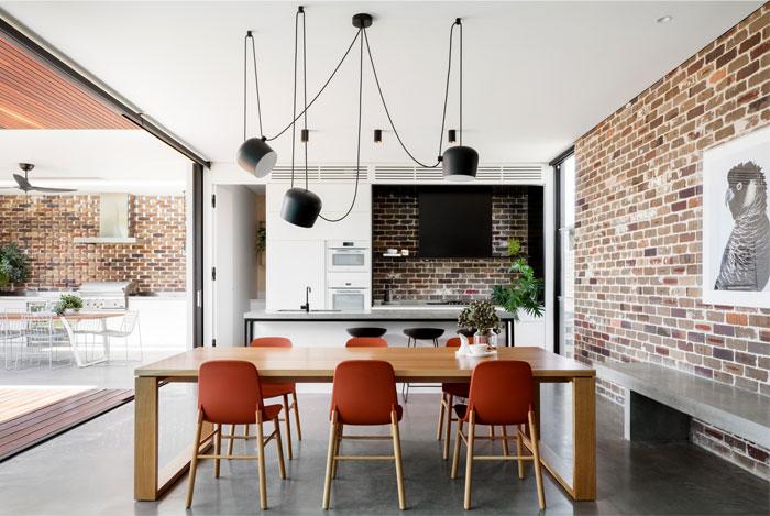 Preston开放式空间的现代住宅设计