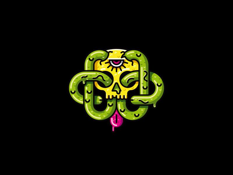 19款神秘主题的logo设计