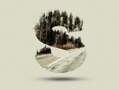 Photoshop制作树林与文字结合的创意文字效果