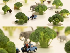 日本藝術家田中達也(Tanaka Tatsuya)的微縮攝影