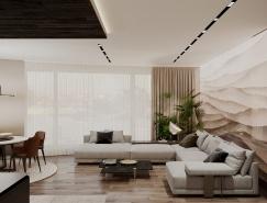 3個黑色系的現代優雅住宅裝修