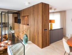 慕尼黑现代豪华的复式公寓设计