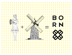 BORN麵包品牌形象設計