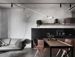 多功能家具和夹层卧室:极致空间利用的紧凑公寓