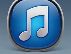 PS绘制立体圆润的iTunes软件图标