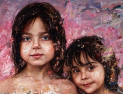 Matt Talbert肖像油画作品欣赏