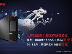 以产品创新引领工作站普及化!联想ThinkStation工作站勇夺第一