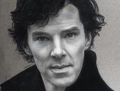 Justin Maas名人肖像素描畫