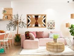4个漂亮的波西米亚风格家居装饰设计