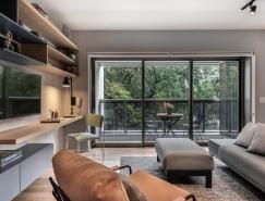 巴西50平轻工业风小户型住宅设计