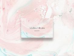 按摩师Adelina Oliveira个人品牌视觉设计