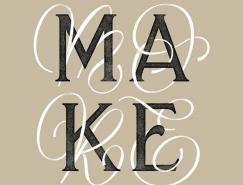 Mark van Leeuwen创意英文字体,体育投注