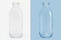 Photoshop快速摳出牛奶瓶和更換背景