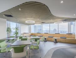 智利製藥公司Bristol-Myers Squibb辦公室空間設計